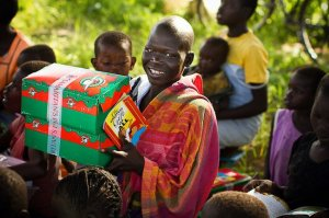 Children in the war torn area of Sudan receive gifts and hope!